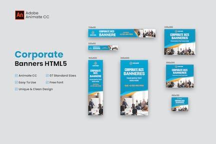 Bannières Entreprise et HTML5 (Animate CC)