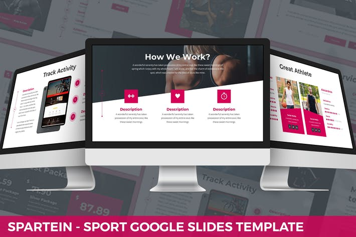 Thumbnail for Spartein - Sport Google Slides Template