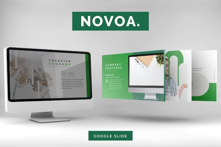 Thumbnail for Navoa - Google Slides Template