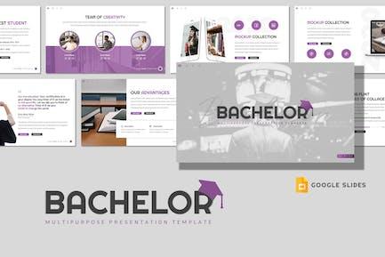 Bachelor - Education Google Slides Template