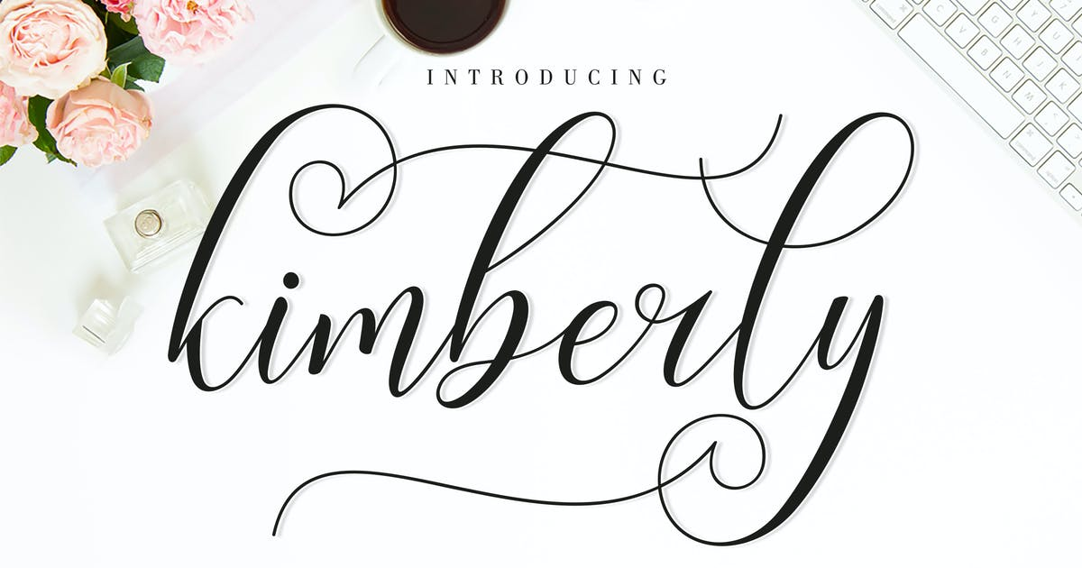 Download Kimberly Script by amarlettering