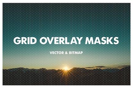 Masken für Gitterüberlagerung