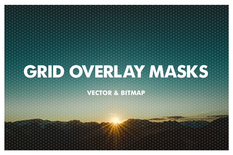 Grid Overlay Masks