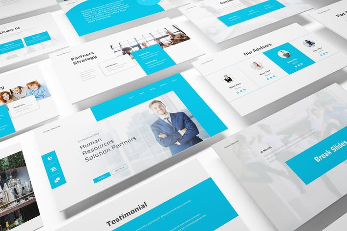 Thumbnail for Human Resource Keynote Template