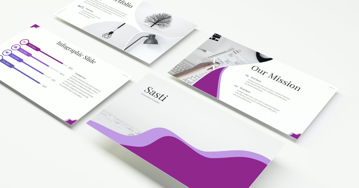 Download Sasti - Power Point Template by IanMikraz