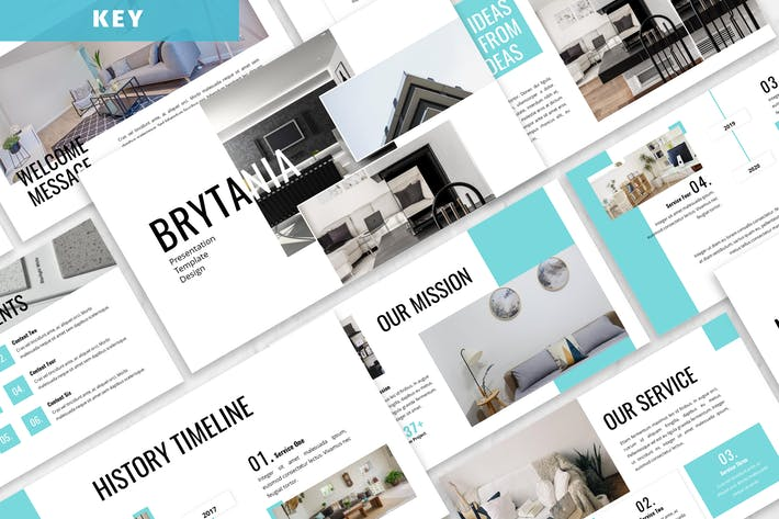 Thumbnail for Brytania - Furniture Keynote Template