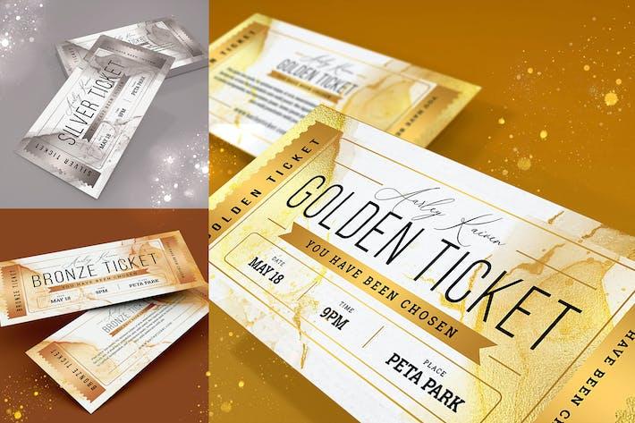 Thumbnail for Golden Ticket Invitation