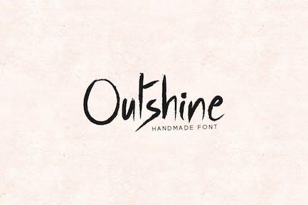 Outshine - Роскошный/рукописный шрифт