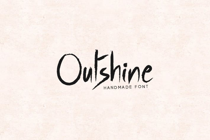 Thumbnail for Outshine - Luxury / Handwritten Font