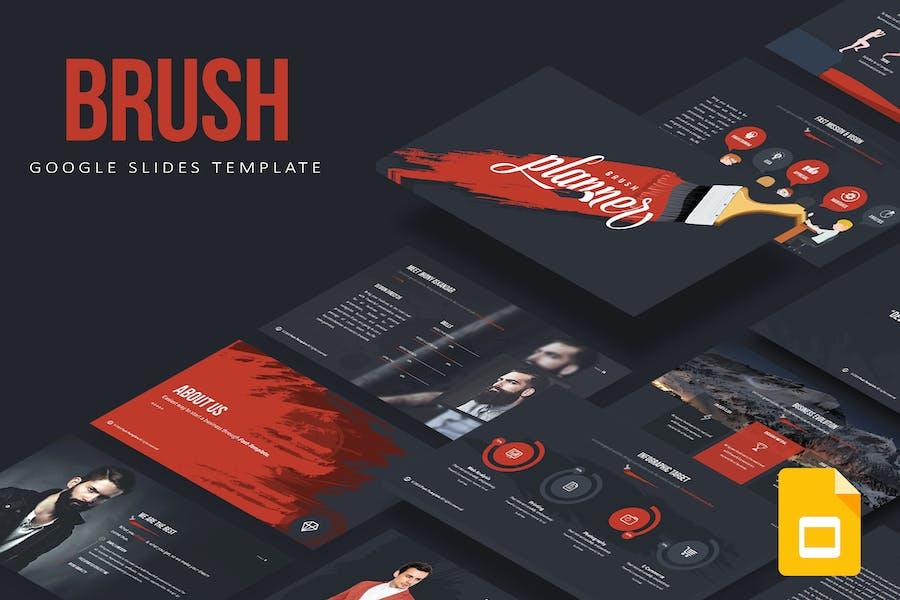 Brush Google Slides Template