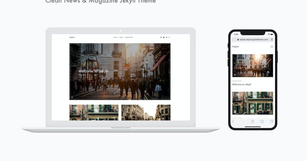 Download Aspire - Clean News & Magazine Jekyll Theme by aspirethemes