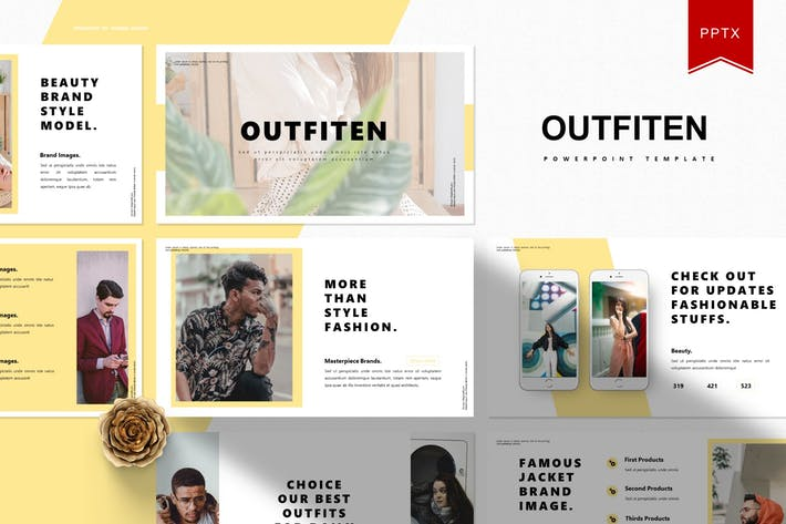 Cover Image For Outfiten | Powerpoint Template