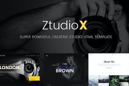 Ztudio X - Creative Studio Photography HTML Templa