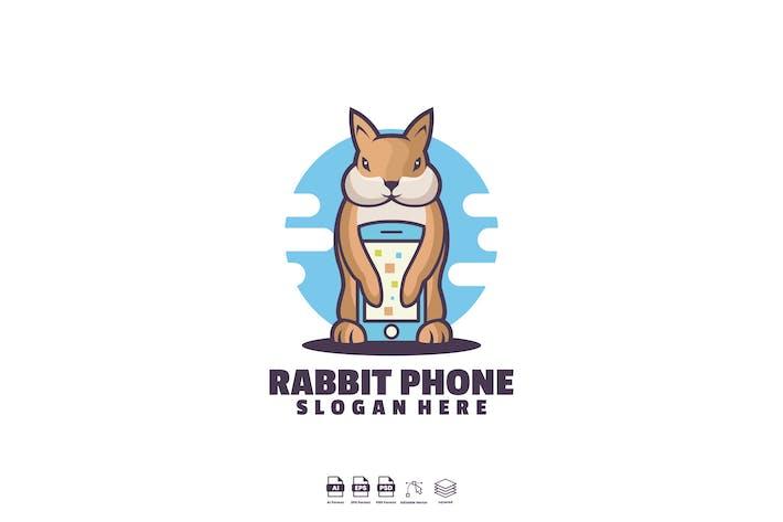 Thumbnail for Logo de téléphone lapin