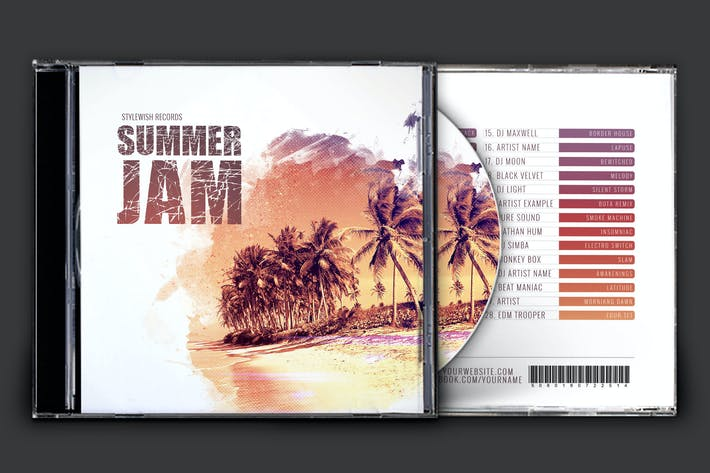 Thumbnail for Summer Jam CD Cover Artwork