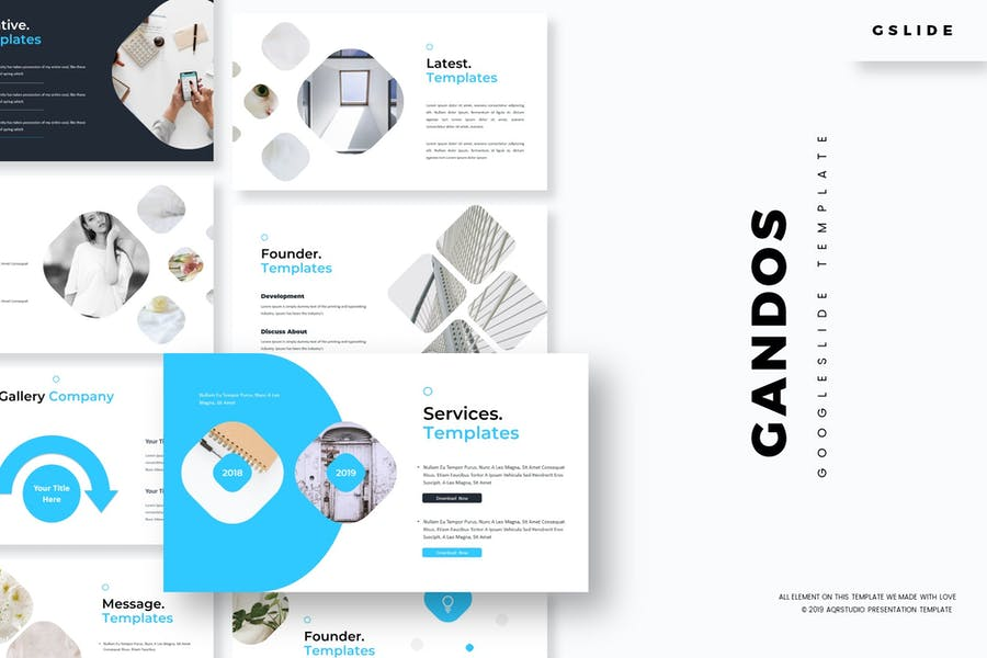 Gandos - Google Slides Template