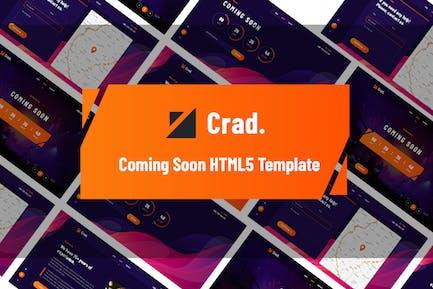 Crad - Creative in Kürze HTML5 Vorlage