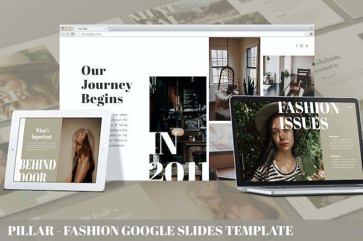 Thumbnail for Pillar - Fashion Google Slides Template