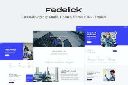 Fedelick - Multi-Purpose HTML Template