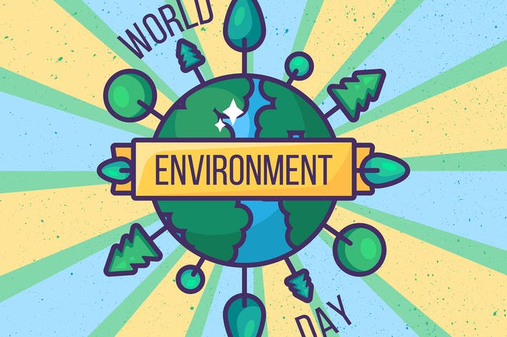 Thumbnail for World Environment Day Illustration