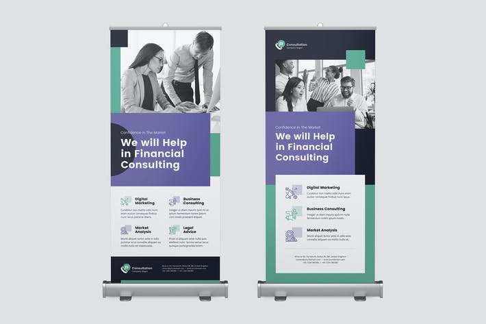 Thumbnail for Roll Up Banner – Consultations