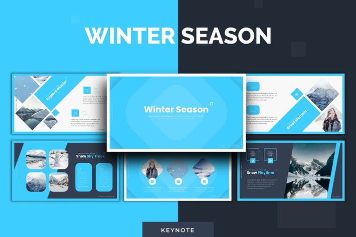 Thumbnail for Winter - Keynote Template