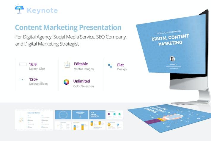 Thumbnail for Content Marketing - Keynote Presentation