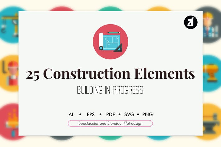 Thumbnail for 25 Construction elements