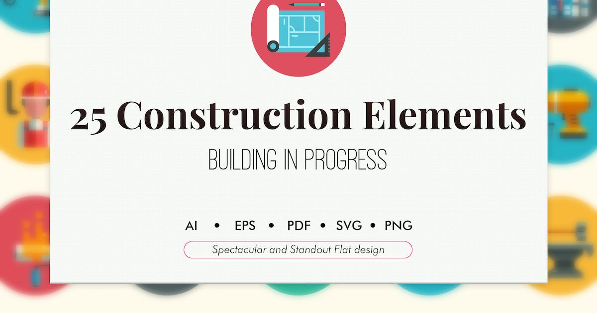 Download 25 Construction elements by Chanut_industries