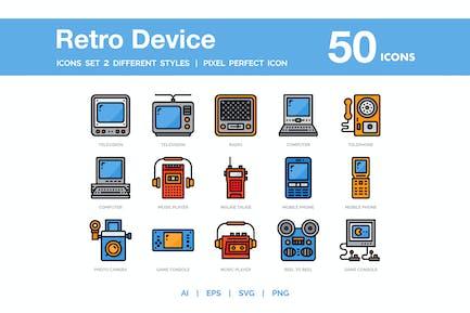 Retro Device Icon Pack