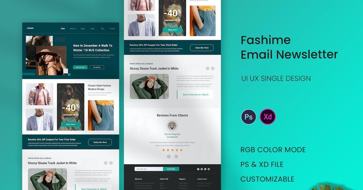 Download Fashime Email Newsletter by karkunstudio