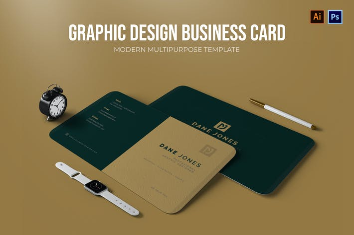 Thumbnail for Graphic Design - Business Card