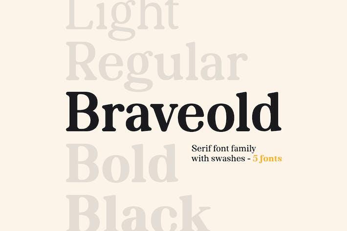 Thumbnail for Braveold Familia tipográfica