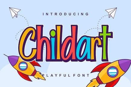 Childart Playful Kids Font