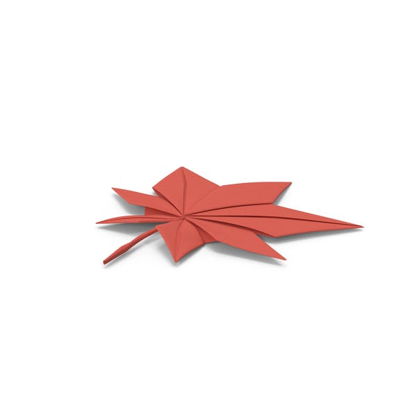Thumbnail for Origami Maple Leaf