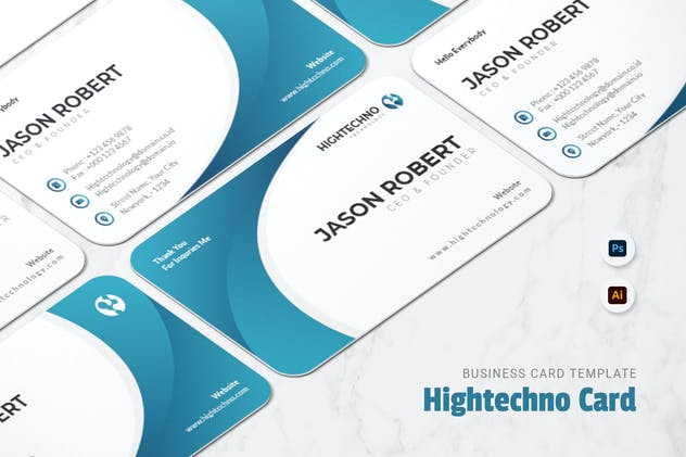 Hightechno Business Card