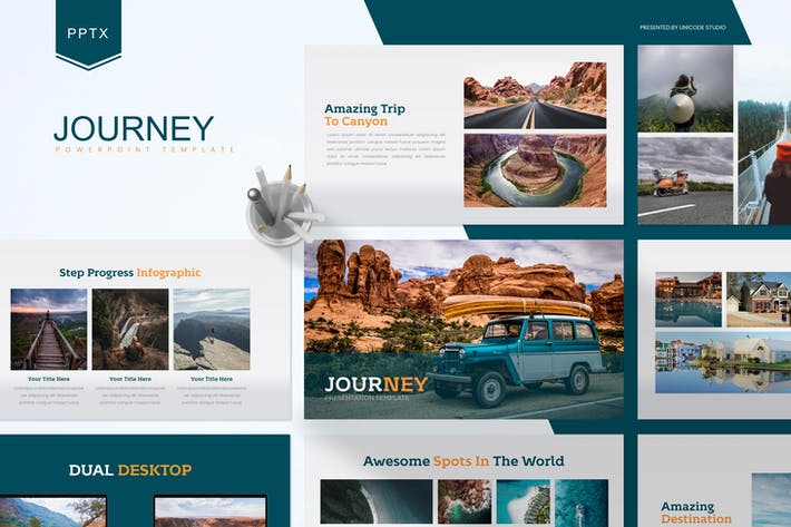 Thumbnail for Journey -  Powerpoint Template