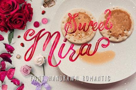 Mira & graphic watercolor & swirls