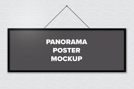 Poster Frame Mockups - Panorama