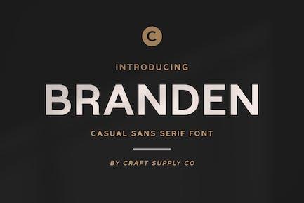 Branden - Casual Sans Serif Font