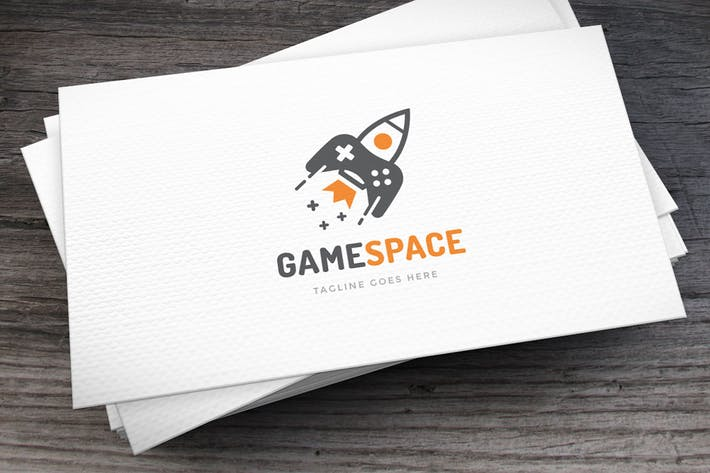 Thumbnail for Game Space Logo Template