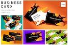 Business cards mockup set