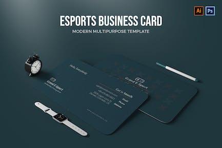 ESports - Business Card