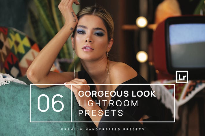 Thumbnail for 6 Gorgeous Look Lightroom Presets + Mobile