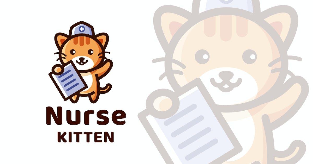 Download Nurse Kitten Logo Template by IanMikraz