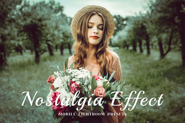 Thumbnail for Nostalgia Mobile Lightroom Presets