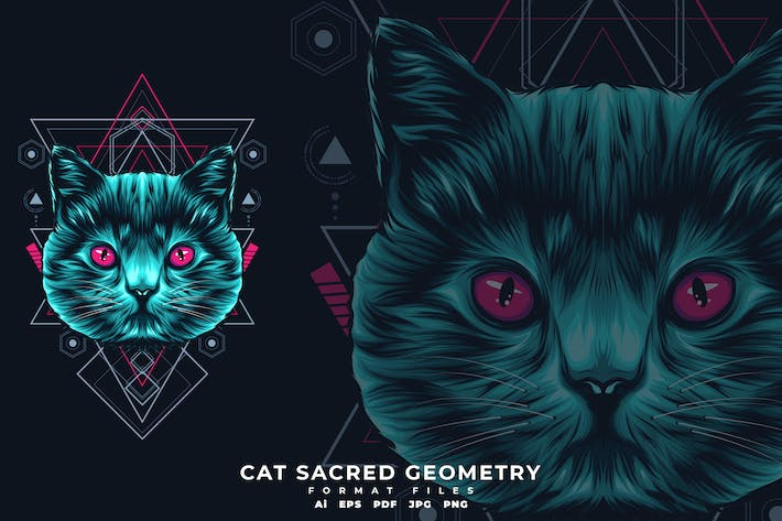 Thumbnail for CAT SACRED GEOMETRY