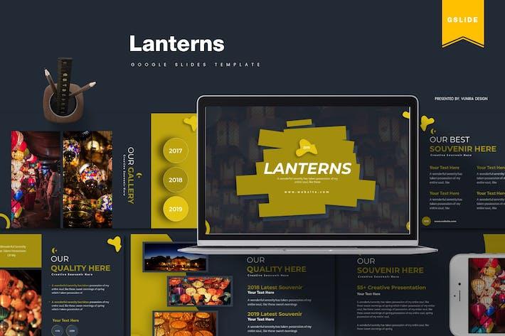 Thumbnail for Lanterns | Google Slides Template