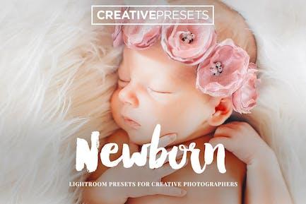 New Born Lightroom Presets