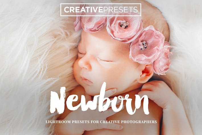 Thumbnail for New Born Lightroom Presets